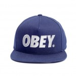 casquette-snapback-obey-thecity-bleu